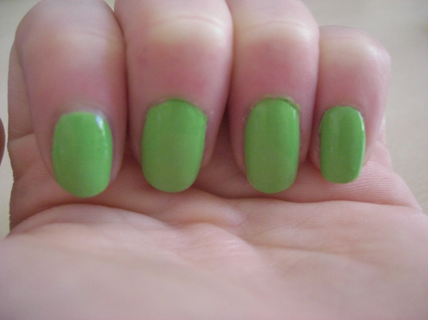 Key Lime Swatched